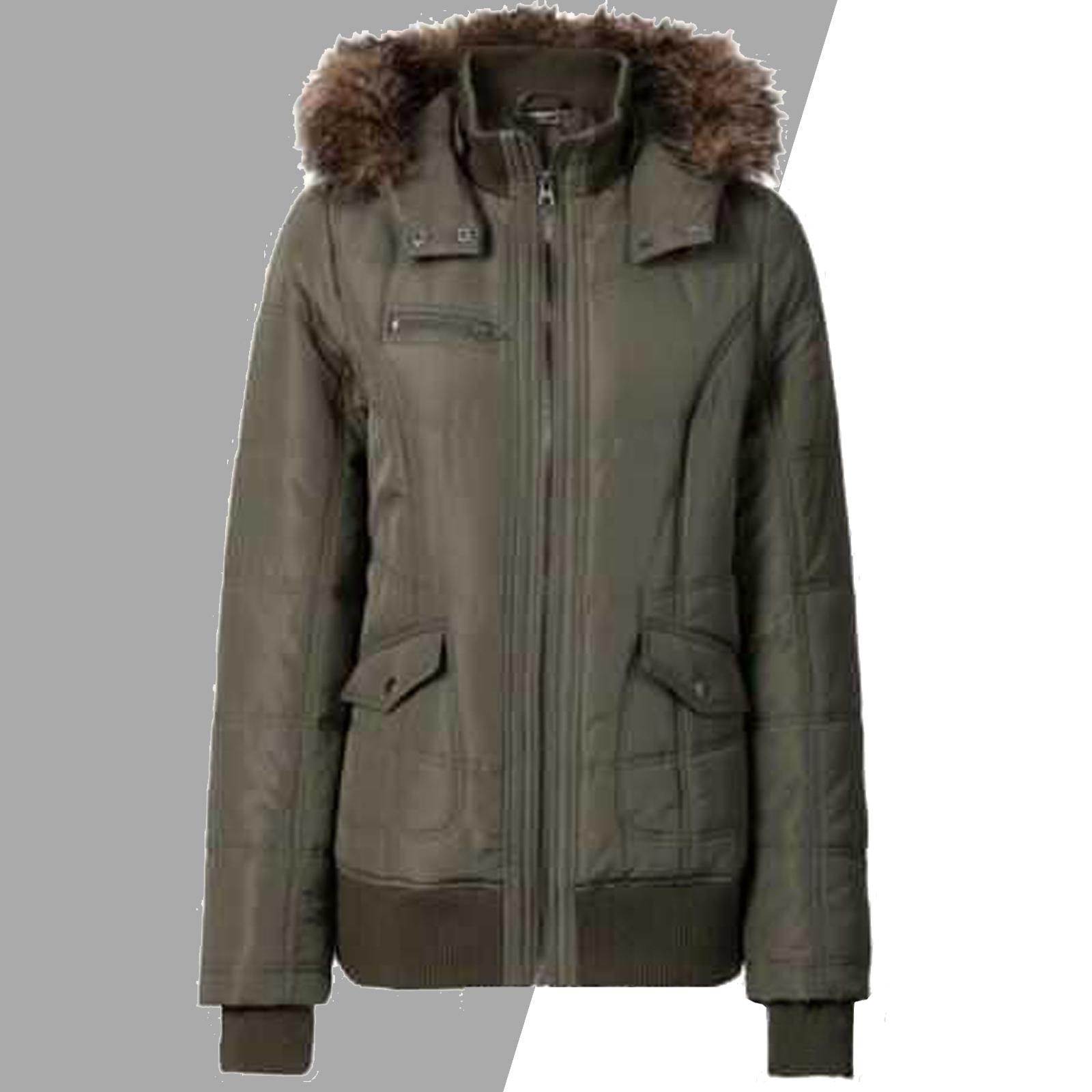 M 38 CLOSED Bomberjacke Blouson Jacket Wattiert Grau Gr